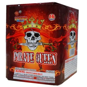 Pirate queen 200 gram cake firework