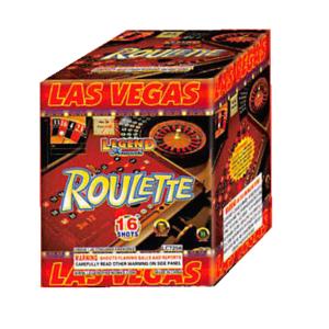 roulette 200 gram cake firework