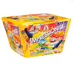 Impressionist 500 gram cake firework