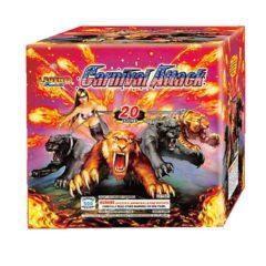 carnival attach 500 gram cake legend firework