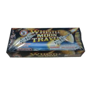 Whistling bottle rockets firework