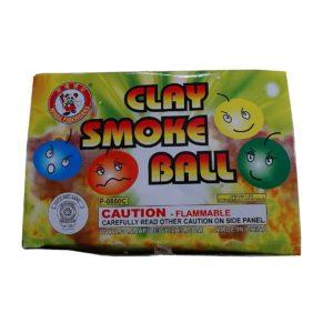 clay smoke balls fireworks
