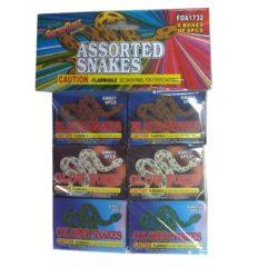 snakes asst