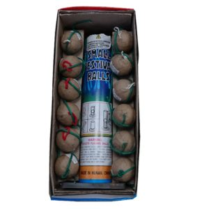 small festival balls artillery shells firework