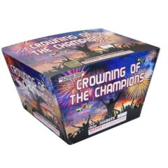 crowning of the champions topgun 500 gram cake firework