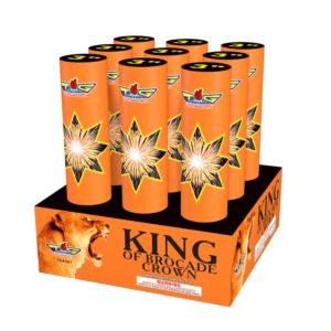 king of brocade crown