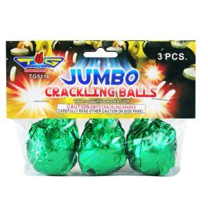 jumbo crackling balls