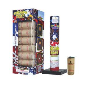 topgun screaming hawk 60 gram canister shells firework