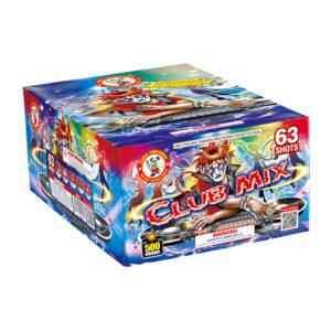 Club mix 500 gram cakes firework