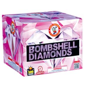 Bombshell diamond 500 gram cake winda firework