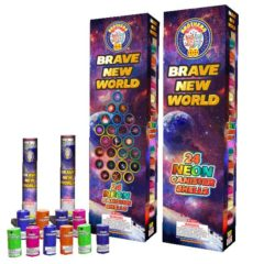 brave new world 60 gram artillery shells firework