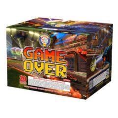 game over brothers 500 gram cake firework