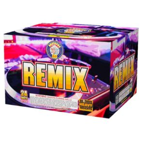 remix brothers pyrotechnics 500 gram cake aerial firework