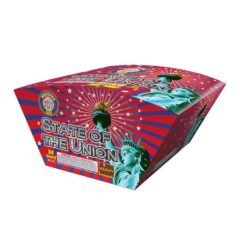 state of the union brother pyrotechnics 500 gram cake firework