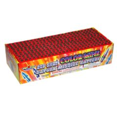 Topgun color mine saturn missile battery firework