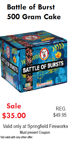 Battle of Burst Coupon