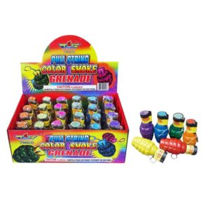 topgun fireworks color smoke grenade