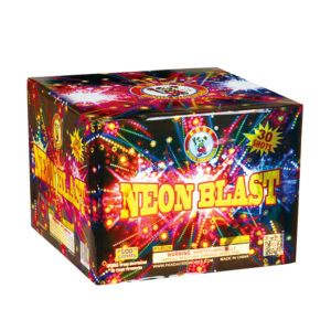 neon blast winda 500 gram cake firework