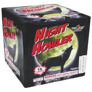 night howler topgun 500 gram cake firework