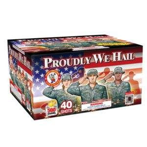 proudly we hail 500 gram cake winda firework