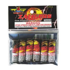zangers aerial spinners topgun fireworks