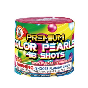 Premium color pearl 48 shots winda firework