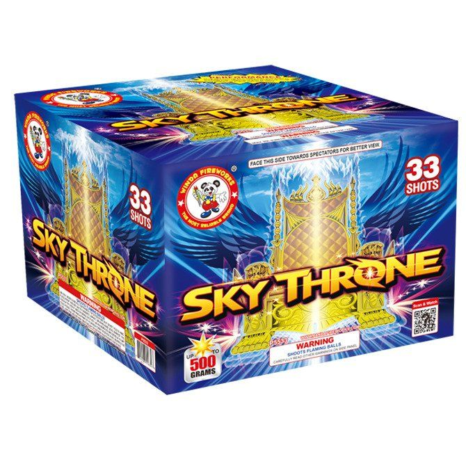 sky throne 500 gram cake winda firework