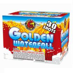golden waterfall 500 gram cake kingbird firework