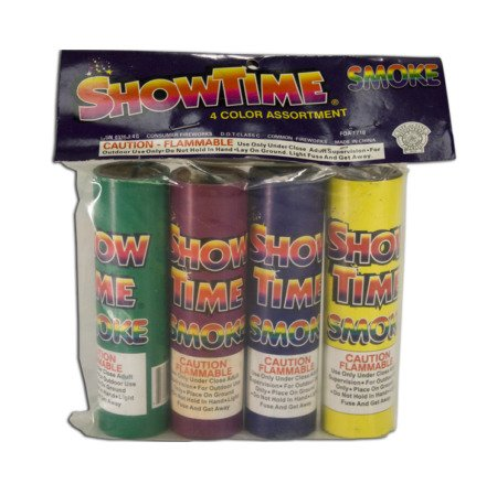 showtime color smoke bombs