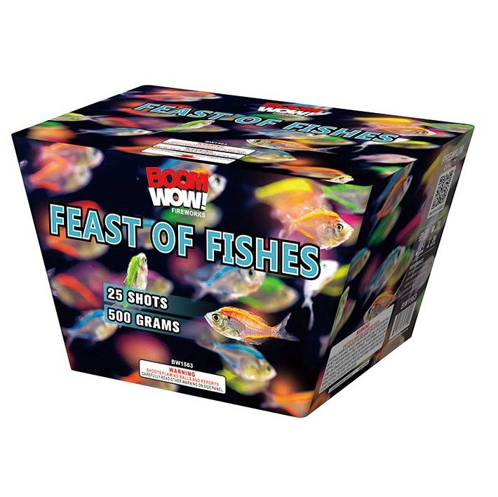feast of fishes 500 gram cake boomwow firework