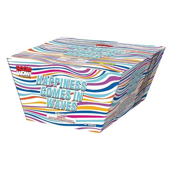 happiness comes in waves 500 gram cake boomwow firework