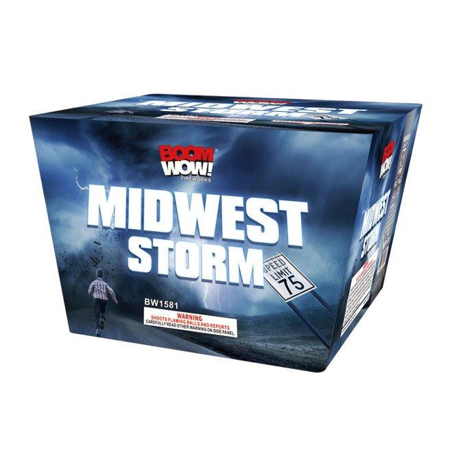 midwest storm 500 gram cake boomwow firework
