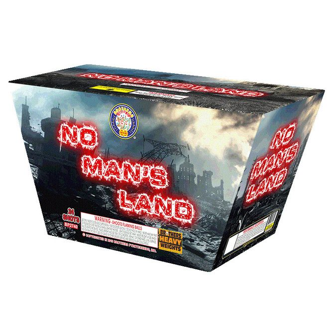 no man's land 500 gram cake brothers firework