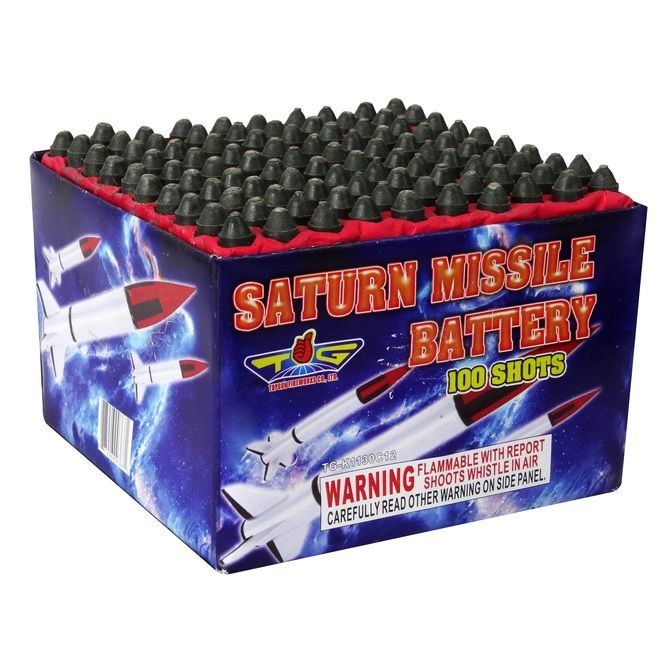 saturn missile battery topgun firework