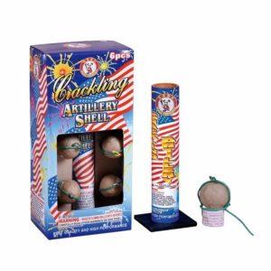 crackling artillery shells winda firework