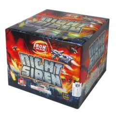 night siren 500 gram cake topgun firework