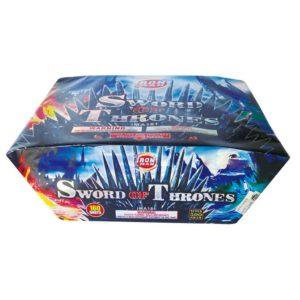 sword of thrones 500 gram cakes topgun firework
