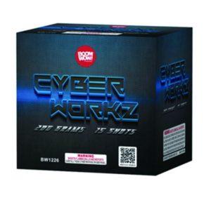 cyber workz 200 gram cake boomwow firework