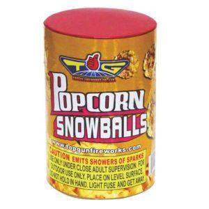 popcorn snowballs fountain topgun firework