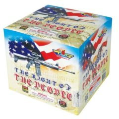 the right of the people 500 gram cake topgun firework